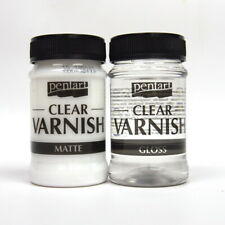 Pentart Solvent based Clear Varnish MATTE or Glossy 100ml