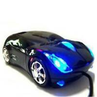 UK Durable Car Shape Wired Mouse USB Gaming Mouse For PC Laptop Computer