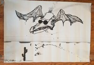 Ralph Steadman - Fear and Loathing in Las Vegas Poster 36x24 Hunter S. Thompson