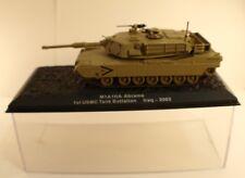 M1A1HA Abrams 1st USMC Tank Battalion Iraq - 2003  neuf en boîte kiosque