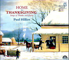 Paul Hillier HOME TO THANKSGIVING: Songs of Thanks and Praise HOLIDAY CD (1999)