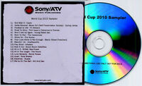 World Cup 2010 Sampler 17trk promo only publishing CD Sony/ATV Music Oasis Suede