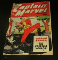 Captain Marvel Adventures comic  #126 1951 Fawcett