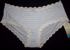NEW LADIES SIZE 8 KNICKERS LOW RISE SHORTS PANTIES SOFT BLUE MARKS & SPENCER