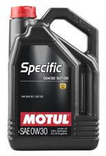 0W30 MOTUL 5L HUILE MOTEUR  SPECIFIC VW 504 00 / 507 00  ACEA C3 Motore Olio
