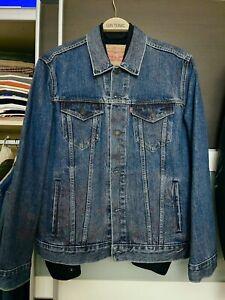 2 x Levi's Jeansjacke Größe L schwarz + blau
