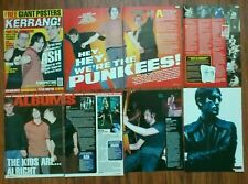 Ash (band) Tim Wheeler mini poster articles clippings