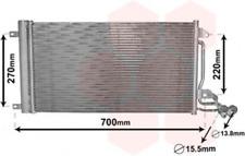 Kondensator, Klimaanlage für Klimaanlage VAN WEZEL 49005038