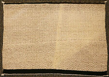 "Navajo Double Twill Weave Single Saddle Blanket, circa 1930, 31"" x 40"""