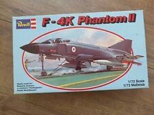 Revell H-129  F-4K Phantom II 1/72 Scale Plastic Model Kit - Rare Old Kit