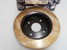 Black - Rear Disc Brake Rotor set (2) - Honda Accord 1991-1997 & Acura CL 1997