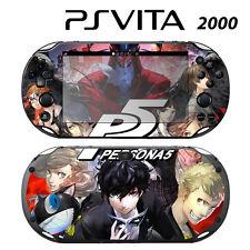 Vinyl Decal Skin Sticker for Sony PS Vita Slim 2000 Persona 5