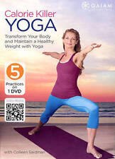 💥CALORIE KILLER YOGA with Colleen Saidman (DVD) 5 workouts Cardio Energy Burn