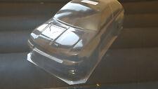 Carrozzeria body RC scala1/10 Renault Clio Williams touring rally+maschere vetri