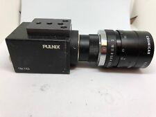 PULNIX TM-7AS CAMERA W/ COSMICAR TELEVISION LENS