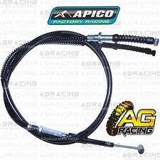 Apico Black Clutch Cable For Kawasaki KX 85 Big Wheel 2008