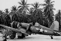 U.S. Navy Vought F4U-1A Corsair Fighter Plane 4x6 WWII WW2 Photo 89