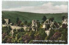 Postkarte Fünftälerstadt Geislingen Steige - Ruine Helfenstein