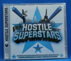 "cd+dvd rap "" Hostile Superstars "" compil Iam, Rohff, Akhenaton, Oxmo Puccino"