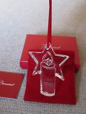 ornement noel baccarat 2012 CHRISTMAS NATALE WEIHNACHT ANHANGER