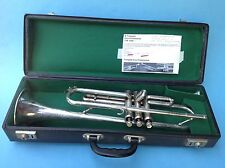 Silberne Trompete Emo Professional Nr. 8103 B-Trompete? Louis Armstrong ~1960