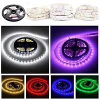 Super Bright 5M/10M 5050 SMD 300/600 LED Flexible Strip light DC 12V RGB White