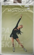 Mondor 3302 Natural Bamboo Over The Boot Figure Skating Tights Women's Sz Small