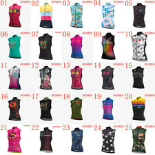 2019 Womens Cycling Sleeveless jersey bicycle Vest Summer Breathable bike shirts