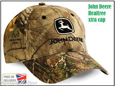 Vendedor Reino Unido Original John Deere Realtree X-tra Camuflaje Twill Cap Camo Sombrero