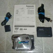Panasonic DVD Video Camera VDR-M75PP Camcorder Palmcorder 1.3 Mega Pixel Used