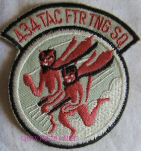 IN18246 - 434 Tac Ftr Tng Sq Flying Devils Squadron Patch