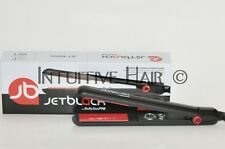 "Jet Black Tourmaline, Ceramic, Nano-Silver Flat Iron 1"" up to 445°F"