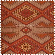 Tessuti e stoffe rossi modello Geometrico per hobby creativi