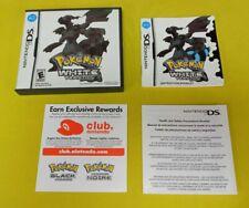 Pokemon White (Nintendo DS) Original Case & Manual Only Authentic