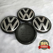 4pcs Wheel Center Hub Caps Logo Emblem For VW VOLKSWAGEN Golf Jetta Beetle 56mm