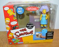 THE SIMPSONS SPRINGFIELD DMV Action Figure Playset Selma Bouvier 2002 Playmates