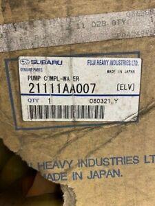 SUBARU WATER PUMP 21111AA007 IMPREZA GENUINE