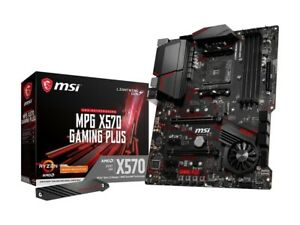 MSI MPG X570 GAMING PLUS Gaming Motherboard AMD AM4 SATA 6GB/s M.2 USB 3.2 Gen 2