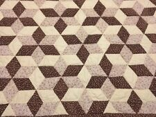 Handmade Quilted Quilt Table Topper Wall Hanging Star 26 X 34