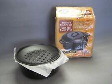 Lodge Logic Unused #8 4.75 qt Dutch Oven w Lid & Original Box