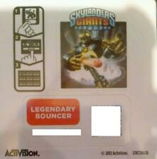 Legendary Bouncer Skylanders Giants Sticker/Code Only!