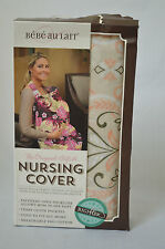 New BEBE AU LAIT Nursing Cover HOOTER HIDERS Discreet Breastfeeding Flora #X1