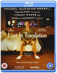 Lost in Translation [Blu-ray] [DVD][Region 2]
