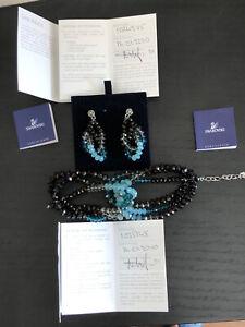 Swarovski Earrings and Bracelet Parure