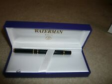 WATERMAN FOUNTAIN PEN with original box and paperwork.