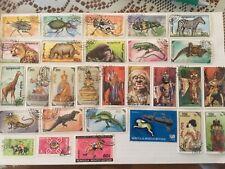 Mongolie, petit lot de 65 timbres différents.(lot 5).
