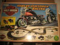 TYCO HARLEY DAVIDSON Electric Slot Motorcycle Racing Set: Box Never Opened NIB
