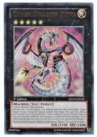 YUGIOH • Cyber Drago Nova 1ª Edizione ULTRA RARA • SDCR-EN038 Cyber Dragon Nova