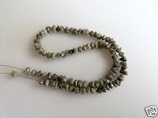 "40.00ct 4-5 MM Natural Brown Rough Diamond Beads Loose Diamond Bead 16"" Necklace"