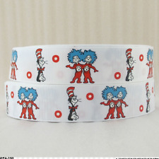 Cat in the Hat Ribbon 1m long Thing 1 & Thing 2